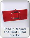 Bolt-On Mounts and Skid Steer Bracket