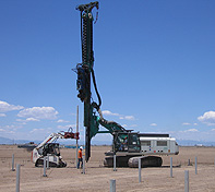 The Double Pole Claw is being used in the Mining Industry