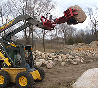 Rock and Tree Hand will clear land of large rocks and boulders