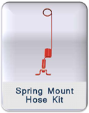 Spring Mount Hose Kit